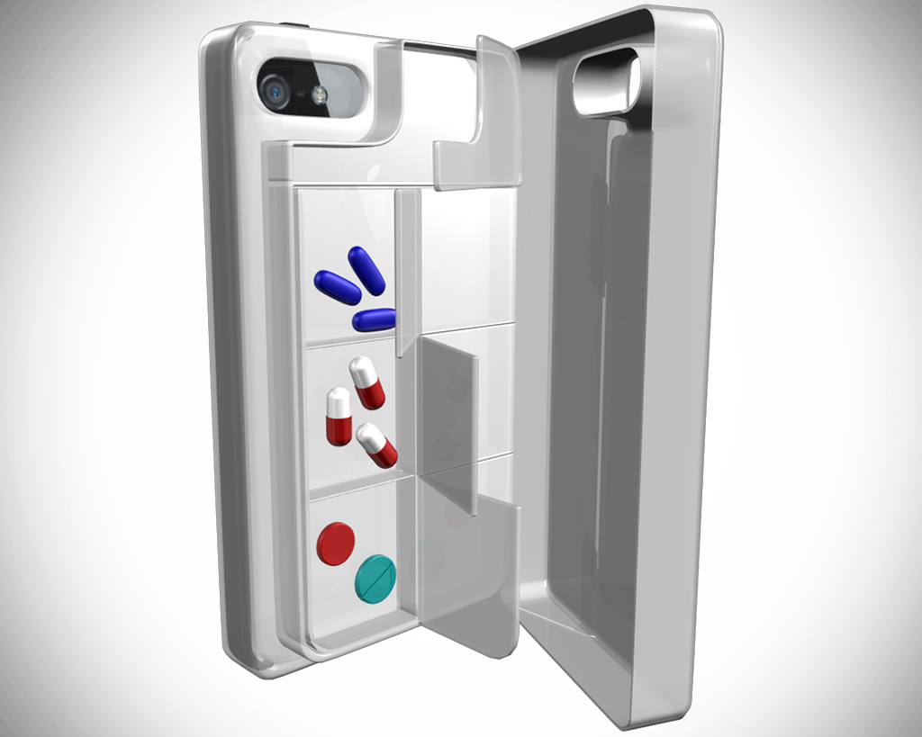 Pillbox Case for Mobile iPhone